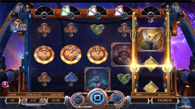 Cazino cosmos slot game van Yggdrasil