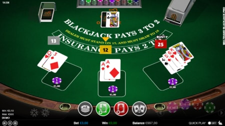 wat is de casino winkans bij blackjack