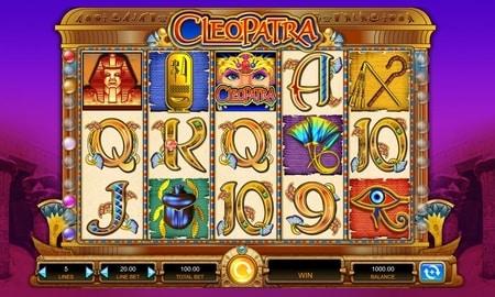 cleopatra gokautomaat screenshot