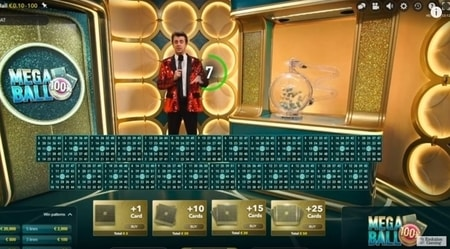 mega ball spelregels screenshot